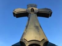 Das Friedenskreuz in Götschendorf Foto: Christoph Schneider